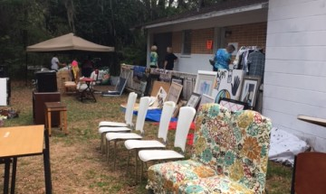 Yard Sale 5-13-17 hard workers